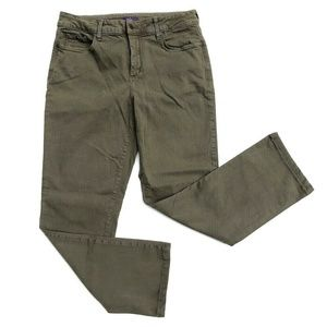 NYDJ Not Your Daughters Olive Jeans Denim Pants